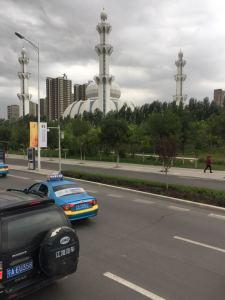 Mosquée au coeur de la ville de Yinchuan en chine