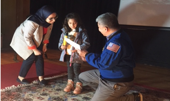 Synthèse de la conférence de l'astronaute Tani Daniel à Rabat  Ses voyages et sa vie dans la station spatiale internationale (ISS)