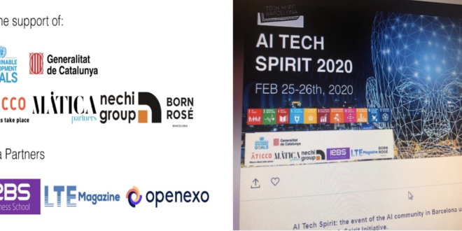 Compte rendu de la «TECH SPRIT Barcelone» qui a remplacé le MWC 2020 de GSMA Barcelone