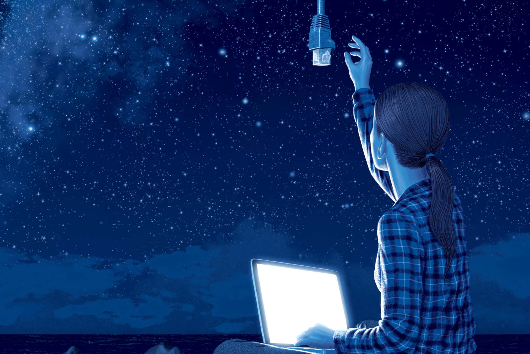 Convergence between the internet and space: challenges and opportunities
